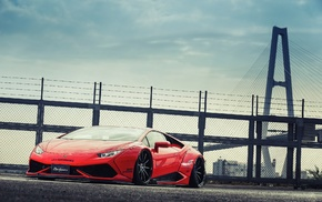 LB Performance, Lamborghini, Lamborghini Huracan LP 610, 4, Liberty Walk, widebody