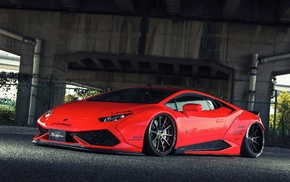 Lamborghini, car, Liberty Walk, Lamborghini Huracan LP 610, 4, LB Performance
