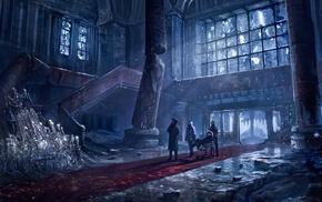 Russia, apocalyptic, fantasy art, artwork