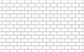psychedelic rock, white background, minimalism, digital art, bricks, music