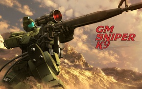 Mobile Suit Gundam 0083 Stardust Memory, Mobile Suit, mech, sniper rifle