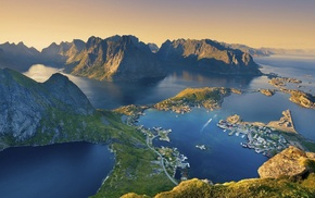 Lofoten Islands, nature, landscape, Norway