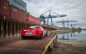 Alfa Romeo 4C, car, vehicle