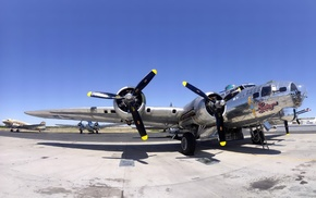 aircraft, Boeing B, 17 Flying Fortress, military