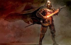 samurai, artwork, Star Wars, concept art, sword, fantasy art