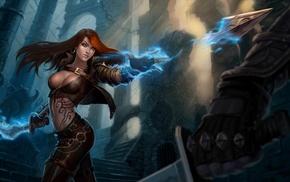 League of Legends, video games, render, illustration