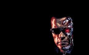 Terminator, artwork, Arnold Schwarzenegger, movies, cyborg