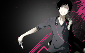 fan art, anime, Orihara Izaya, Durarara