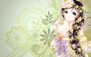 cleavage, fan art, Love Live, anime girls, anime, Toujou Nozomi