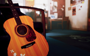 Life Is Strange, guitar, video games