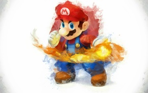 Super Smash Brothers, Super Mario