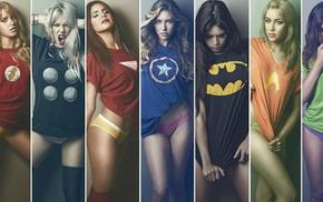 Ian Reyes, superheroines
