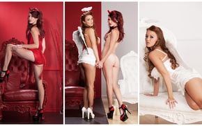 Leanna Decker, Elle Alexandra, redhead, Playboy