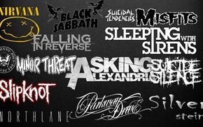 Misfits, Falling In Reverse, dark, HCWW, Nirvana, Parkway  Drive