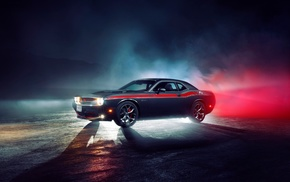 car, race cars, Dodge Challenger, Dodge, challenger