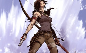 artwork, Lara Croft, Tomb Raider