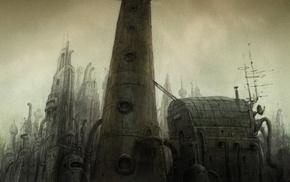 video games, Machinarium, urban