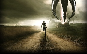 sky, Mass Effect, warrior, Chaos, road, spaceship