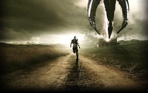 sky, Mass Effect, warrior, Chaos, road, spaceship