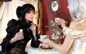 steampunk, steam girl