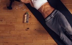 fitness model, girl, sport