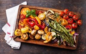 eggplant, food, Pepper, tomatoes