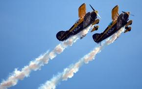 sky, airplane