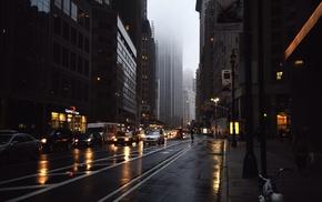 urban, street, traffic