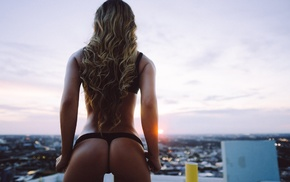 Paola Canas, thong, model, ass, blonde