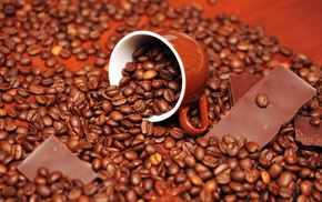 cup, chocolate, coffee