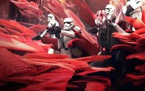 stormtrooper, artwork, Star Wars, concept art, science fiction