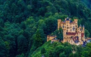 Schloss Hohenschwangau, city, castle, Hohenschwangau