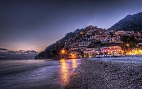 photography, city, Italy, Positano