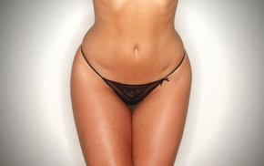 black panties, hot pants