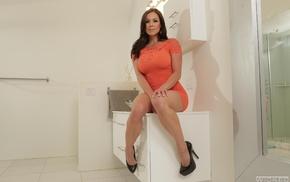 girl, high heels, Kendra Lust