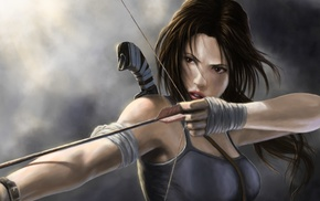 Lara Croft, Tomb Raider, artwork