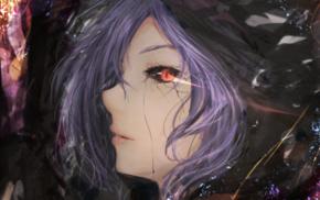 Tokyo Ghoul, Kirishima Touka, anime girls, fantasy art