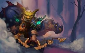 goblin, World of Warcraft, fantasy art