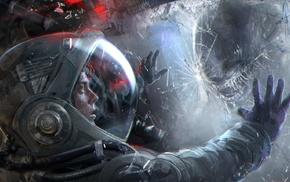 aliens, science fiction, Alien movie, Xenomorph, futuristic, artwork