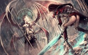 wings, fantasy art
