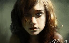 girl, 2D, fan art