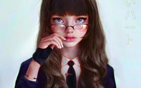 2D, fan art, face