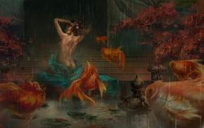 fantasy art, fish