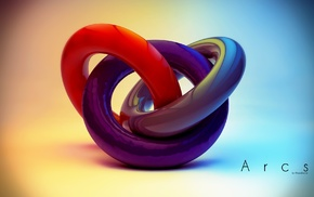 Cinema 4D, digital art, concept art, geometry, abstract