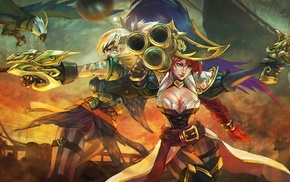 Quinn, Miss Fortune, League of Legends