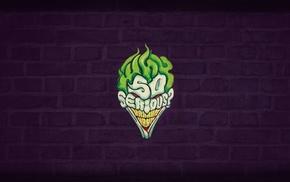 Joker, walls, dark, abstract