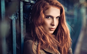 photography, girl, long hair, redhead, girl outdoors