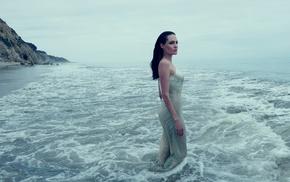 Angelina Jolie, actress, girl outdoors