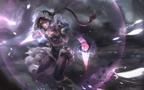 2D, Dota 2, anime girls, Templar Assassin, Lanaya, fan art