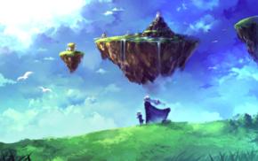 Magus, Chrono Trigger, Schala, floating island